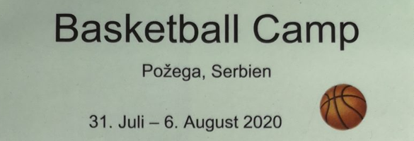 Basketball camp in Pozega Serbien
