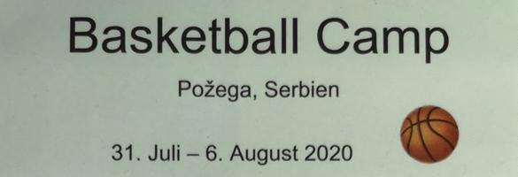 Basketball camp in Pozega Serbien
